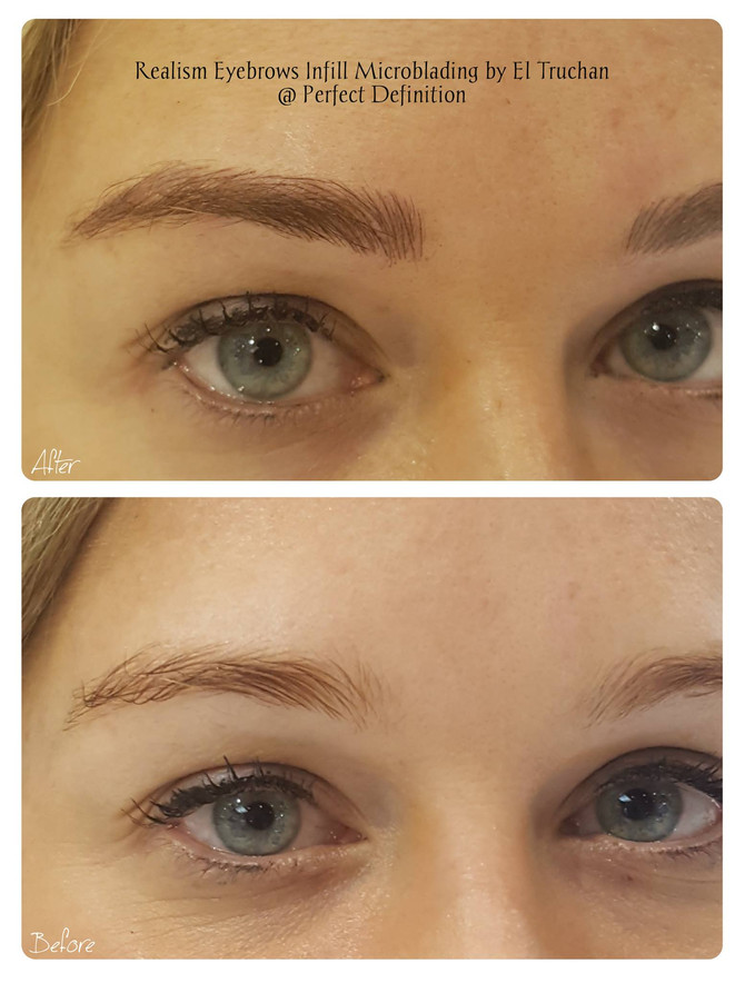 Realism Eyebrows Microblading @ Perfect Definition by El Truchan in London