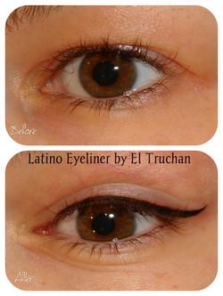 latino Eyeliner Semi Permanent Makeup by El Truchan CPCP..