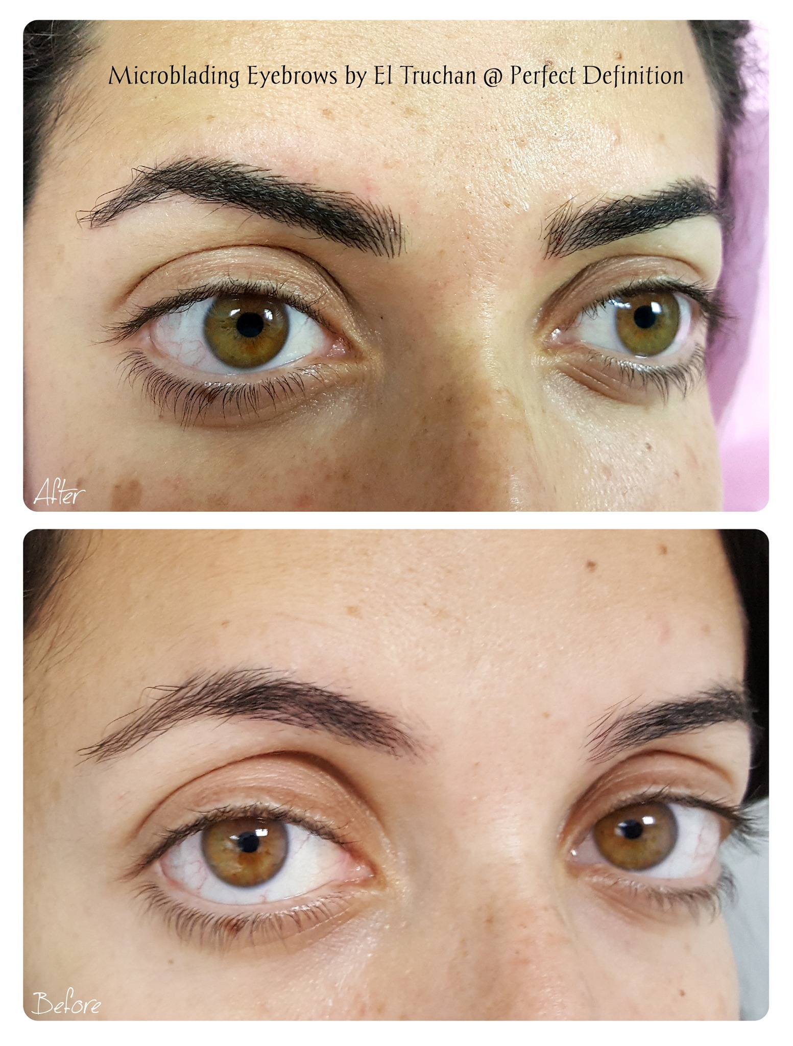 Microblading Eyebrows by El Truchan @ Pe