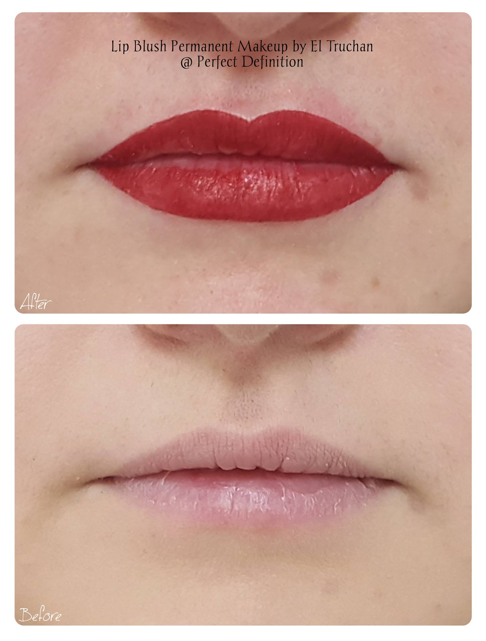 Lip Blush Permanent Makeup by El Truchan