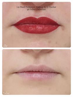 Lip Blush Permanent Makeup by El Truchan