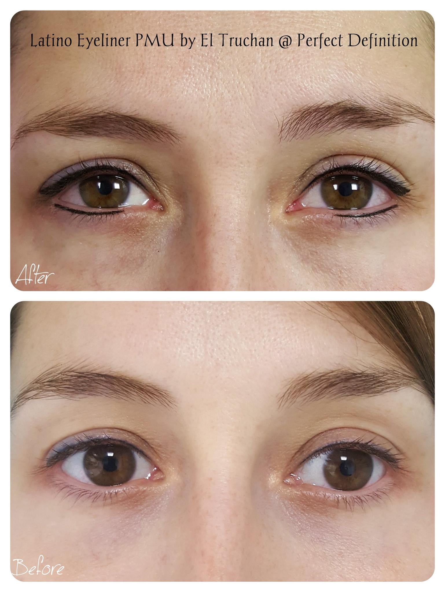 Latino Eyeliner Permanent Makeup by El Truchan _ Perfect Definition