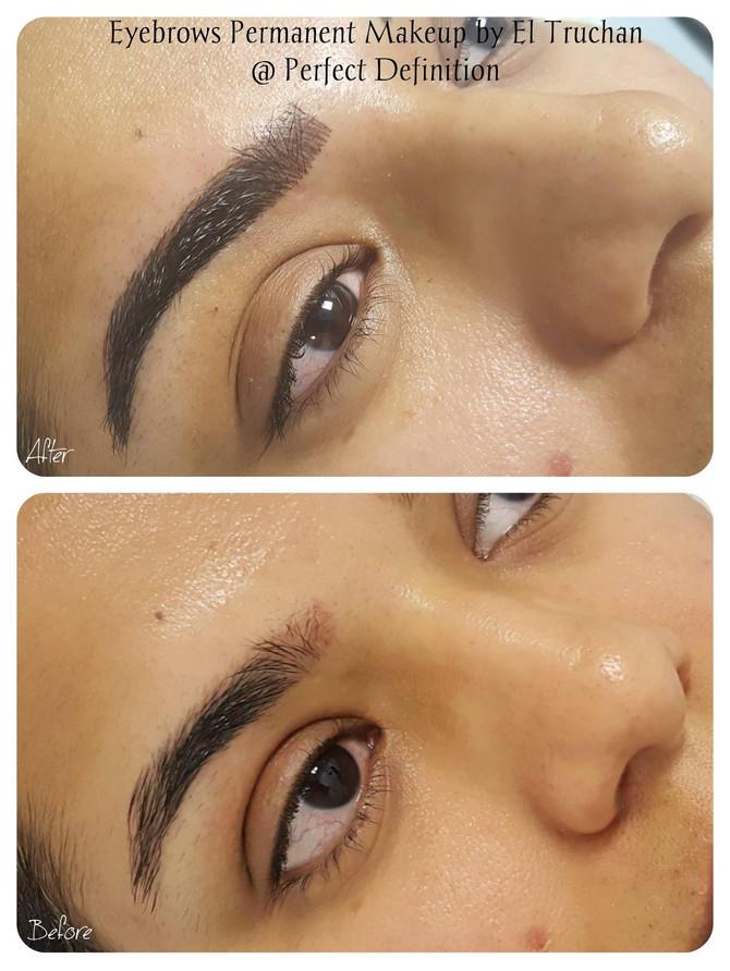 Creating Permanent Makeup Eyebrows by El Truchan