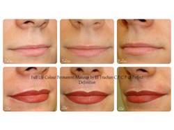 Full lip colour permanent makeup El Truchan