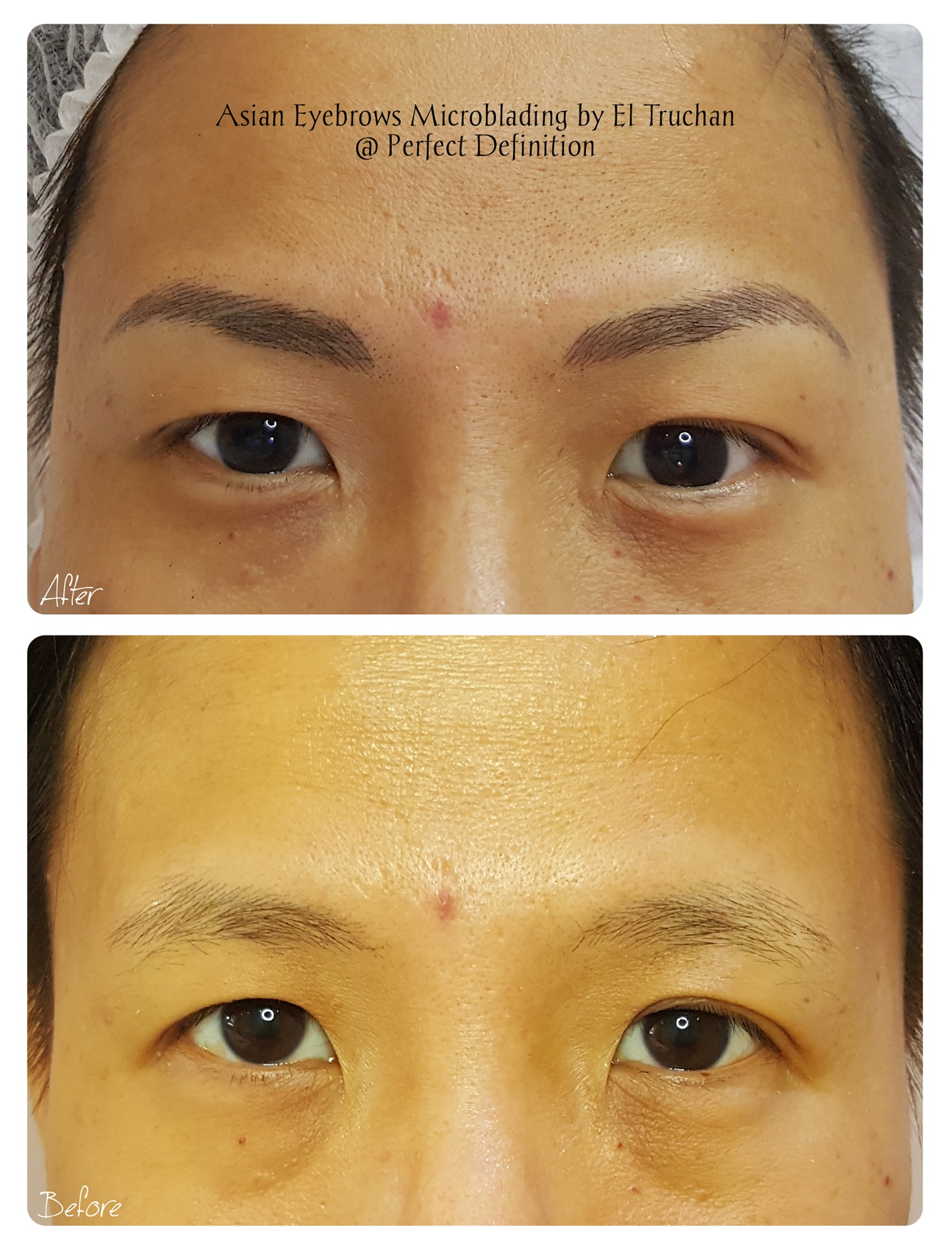 Asian Eyebrows Microblading by El Trucha
