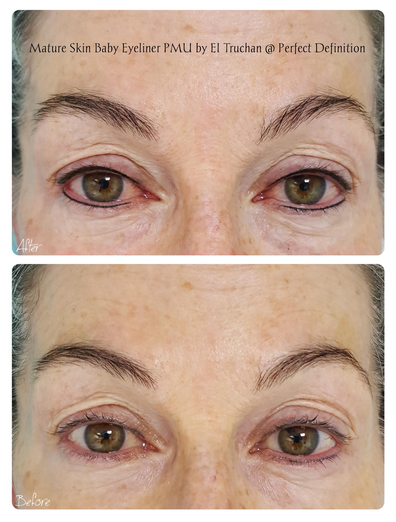 Mature Skin Baby Eyeliner PMU by El Truc