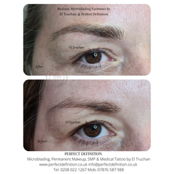 Realism Microblading Eyebrows by El Truchan _ Perfect Definition London 10005