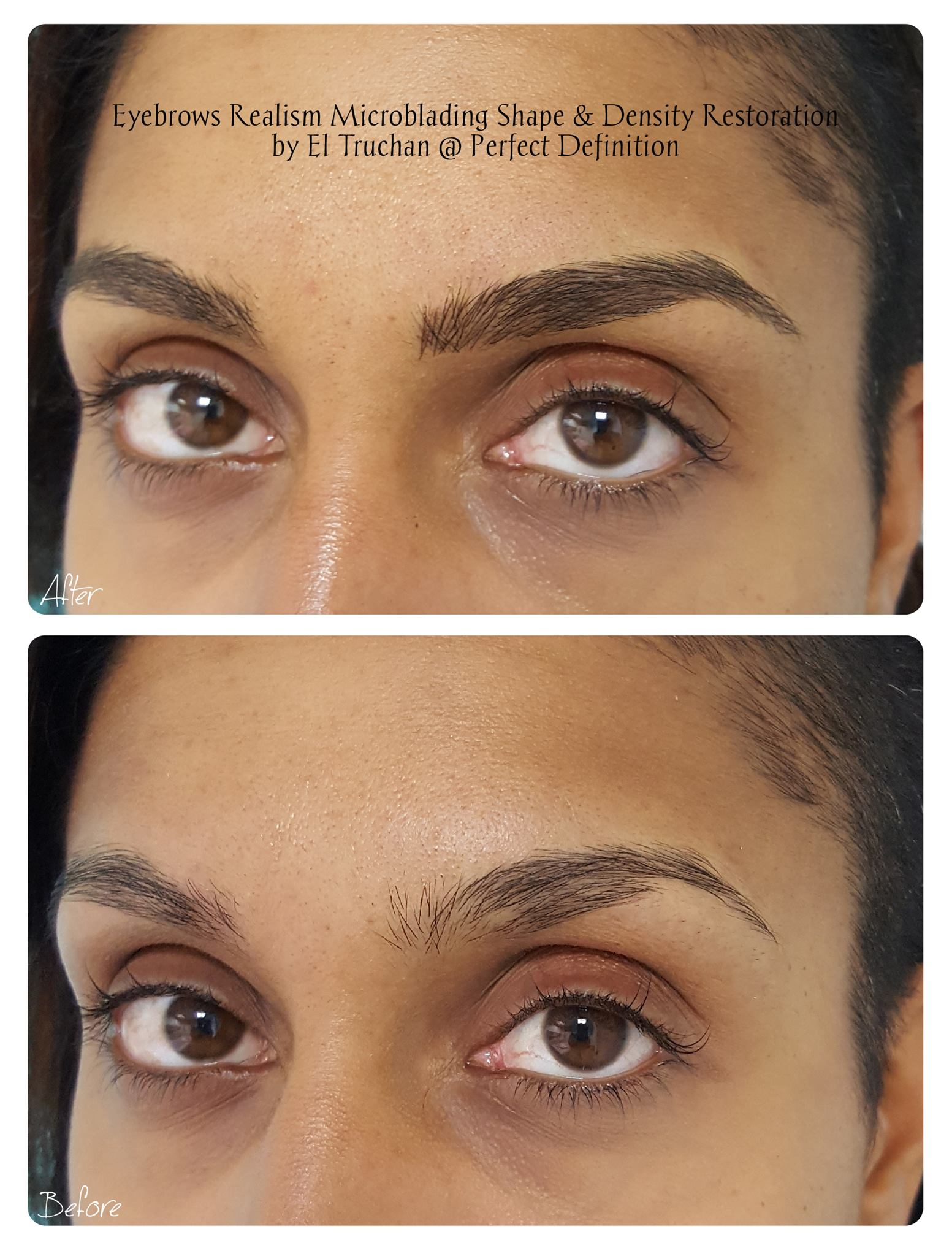 Eyebrows Realism Microblading Shape & De