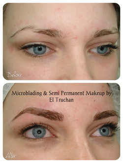 Microblading Permanent Make up by El Truchan C.P.C.P