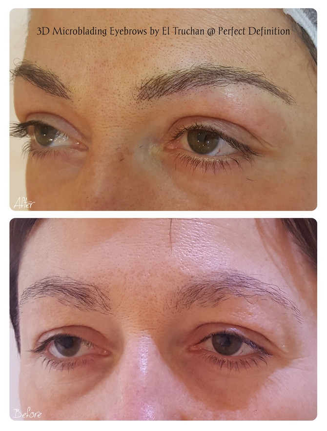 3D Microblading Eyebrows by El Truchan @ Perfect Definition