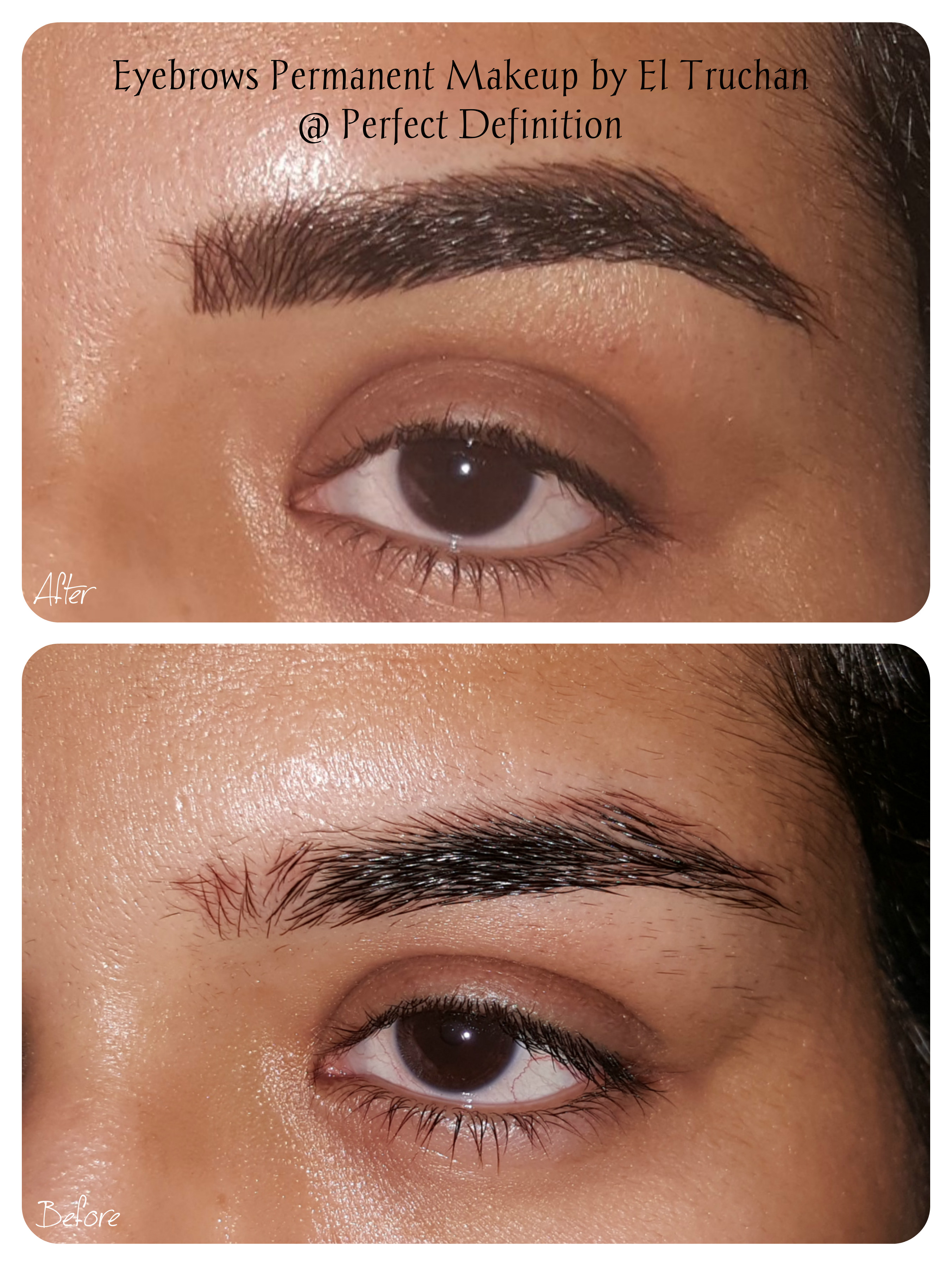 Hairstroke eyebrows PMU by El Truchan _ PerfectDefinition UK