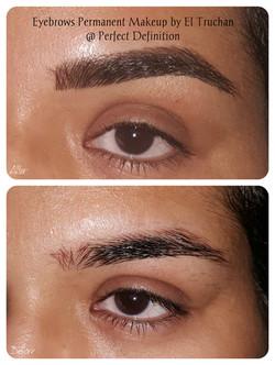 Hairstroke eyebrows PMU by El Truchan _ PerfectDefinition UK