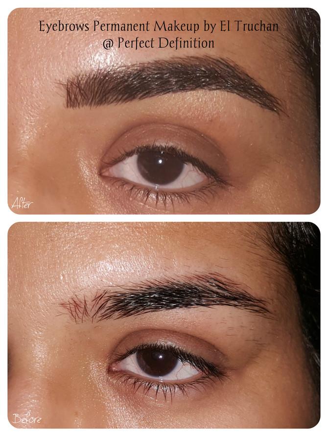 Natural Hairstroke Eyebrows by El Truchan