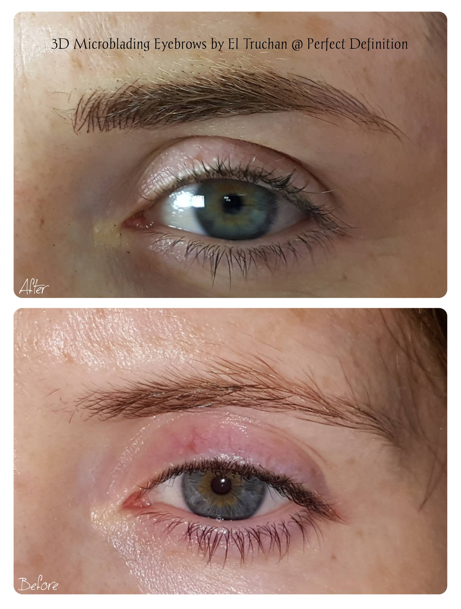 3D Microblading Eyebrows by El Truchan