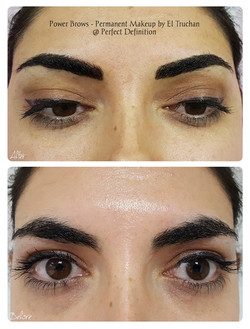 Power Brows Permanent Makeup by El Truch