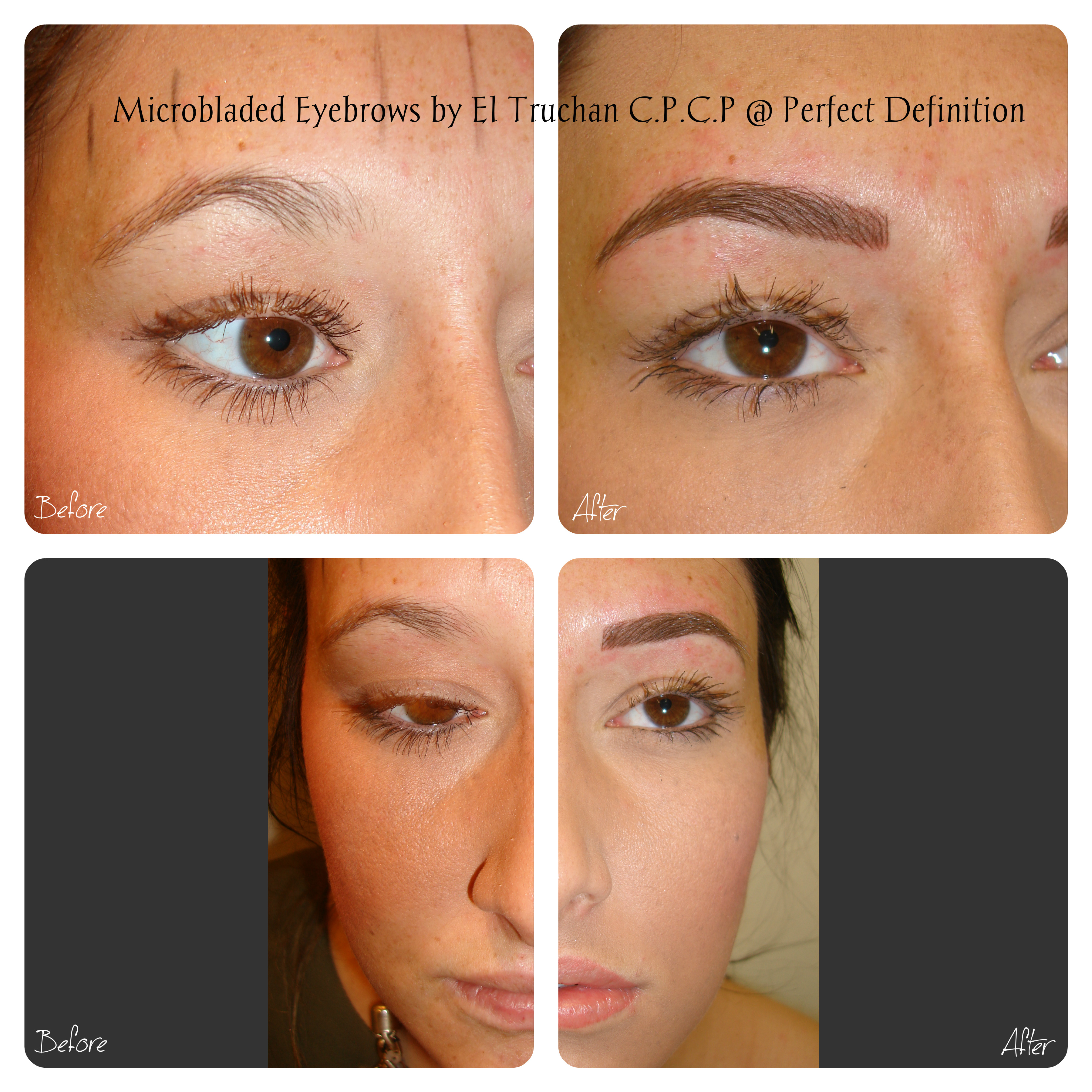Microbladed Eyebrows at Perfect Definition by El Truchan in London