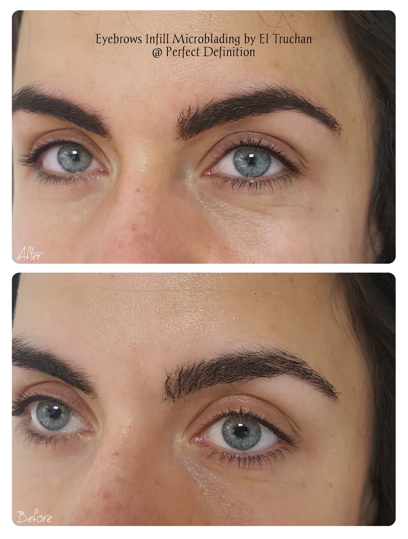 Eyebrows Microblading Density