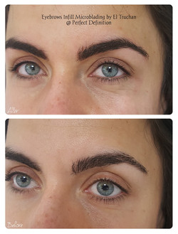 Eyebrows Microblading Density