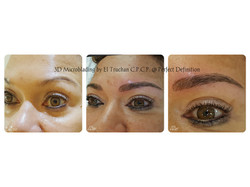 3D Microbladed Eyebrows