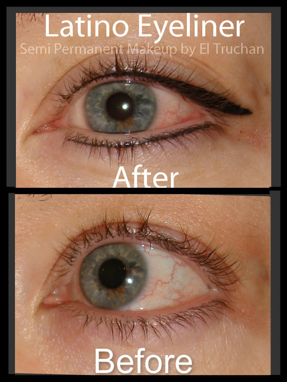 Latino Eyeliner Semi Permanent Makeup by El Truchan CPCP