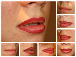 Lip Blush right after the treatment