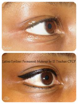 Latino eyeliner by El Truchan CPCP