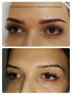 Microblading Eyebrows by El Truchan _ Pe