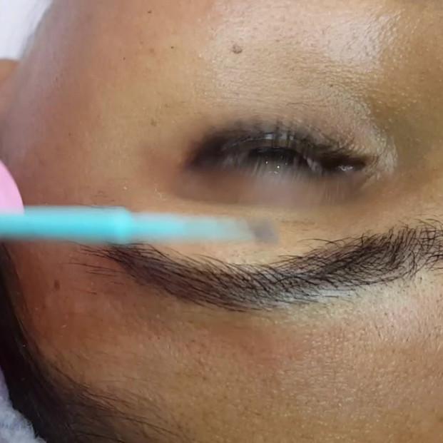 Asian Eyebrows Density Microblading by E