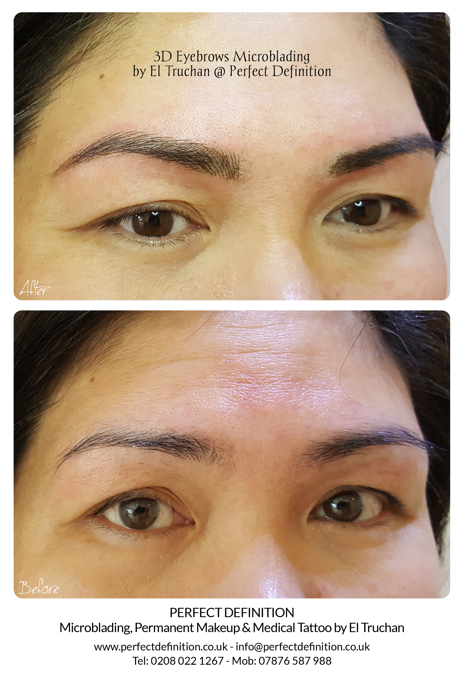 3D Eyebrows Microblading by El Truchan _