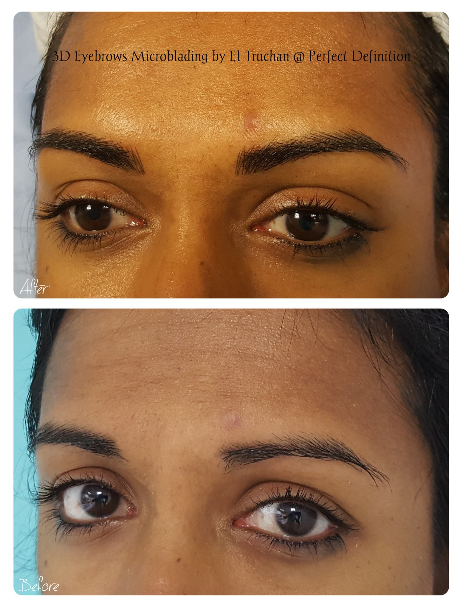 3D Eyebrows Microblading by El Truchan