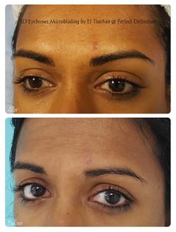 3D Eyebrows Microblading by El Truchan