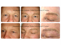 Male Eyebrows - Microblading by El Truch