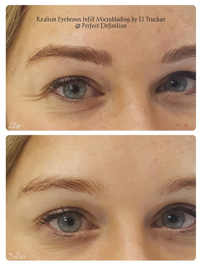 Realism Eyebrows Microblading by El Truchan @ Perfect Definition in London
