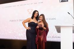 El Truchan winner of London Hair&Beauty