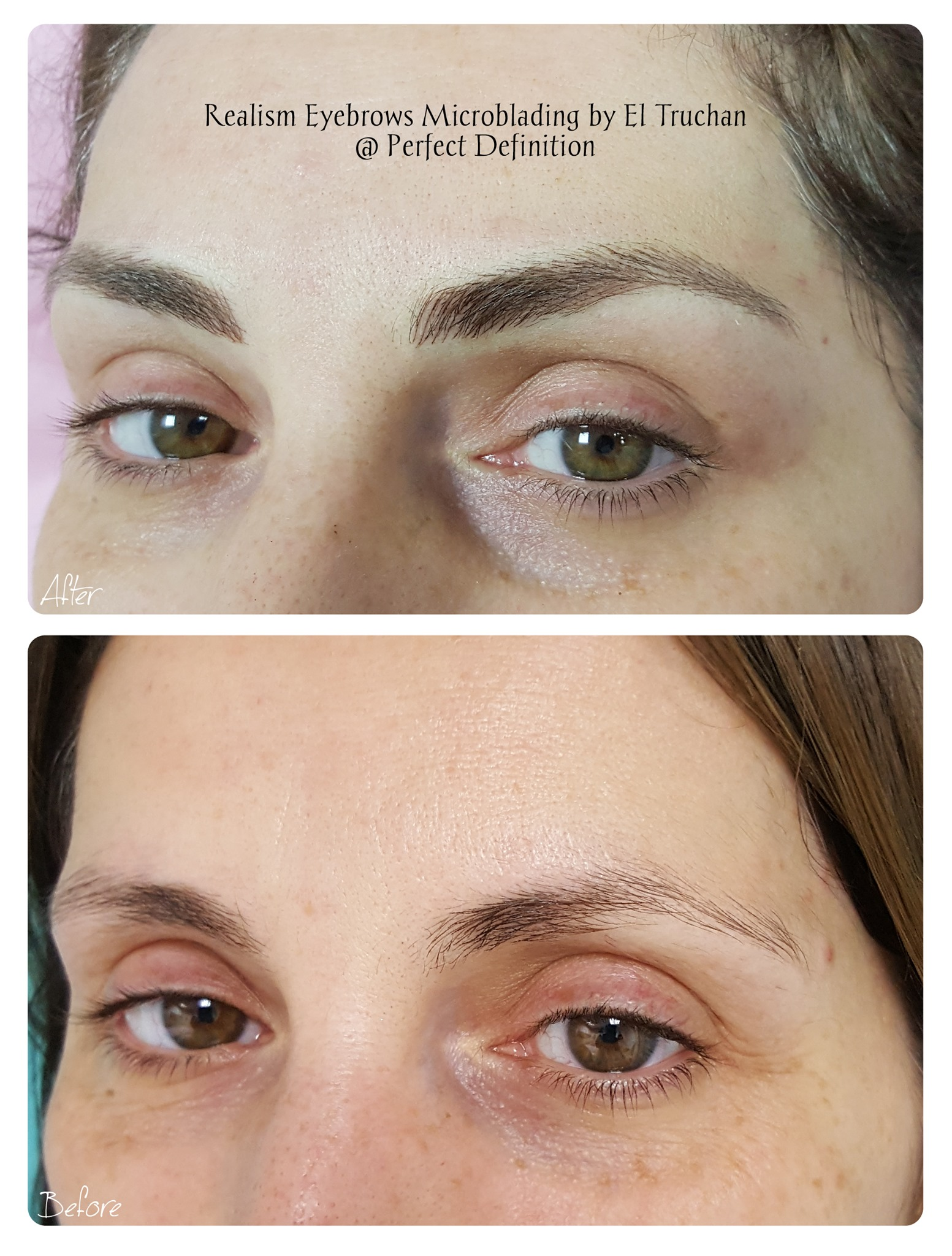 Realism Eyebrows Microblading by El Truc