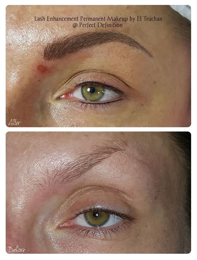 Lash Enhancement Permanent Makeup by El Truchan @ Perfect Definition