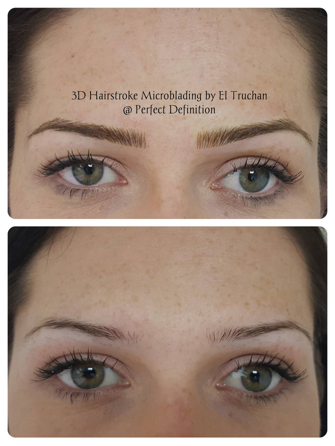 Perfect Definition presents: 3D Hairstroke Microbladed Eyebrows by El Truchan