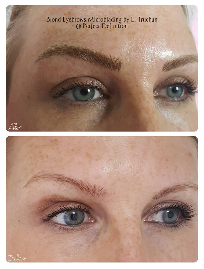 Microblading for Blondes @ Perfect Definition by El Truchan
