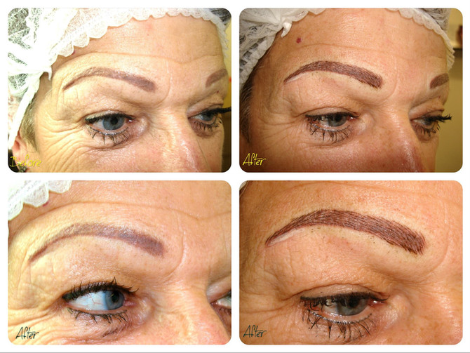 Eyebrows Correction - BEFORE & AFTER