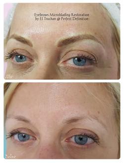 Eyebrows Microblading Restoration by El