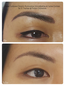 Asian Eyebrows Microblading Density Rest