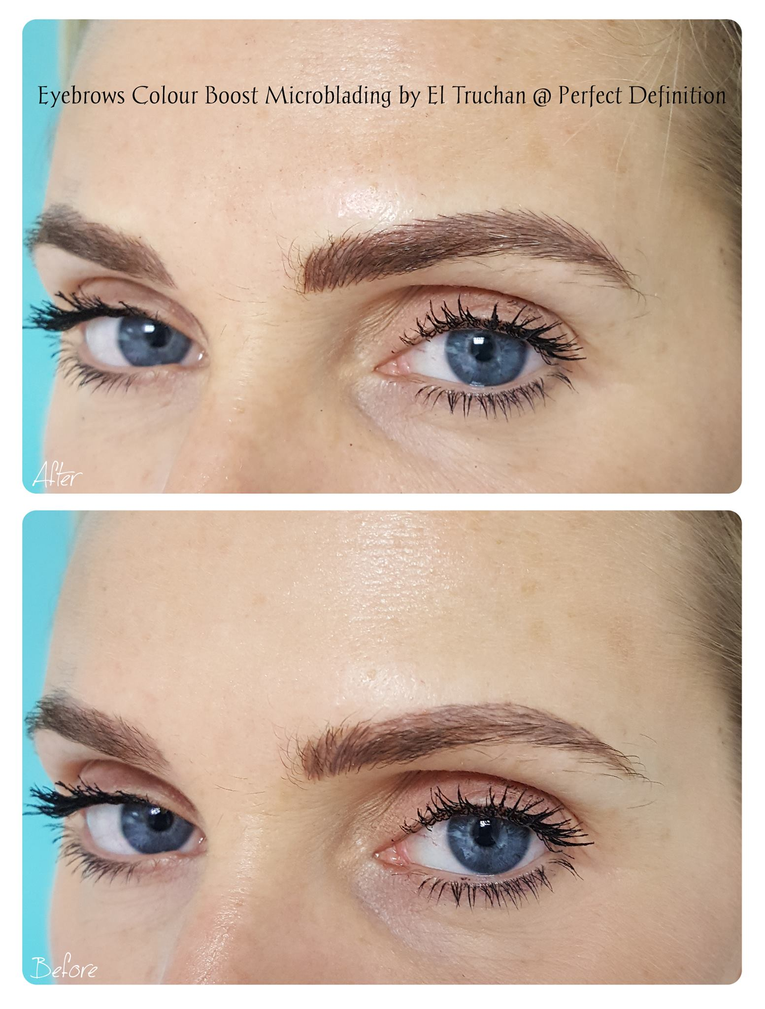 Eyebrows Colour Boost Microblading by El
