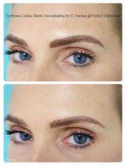 Eyebrows Colour Boost Microblading by El