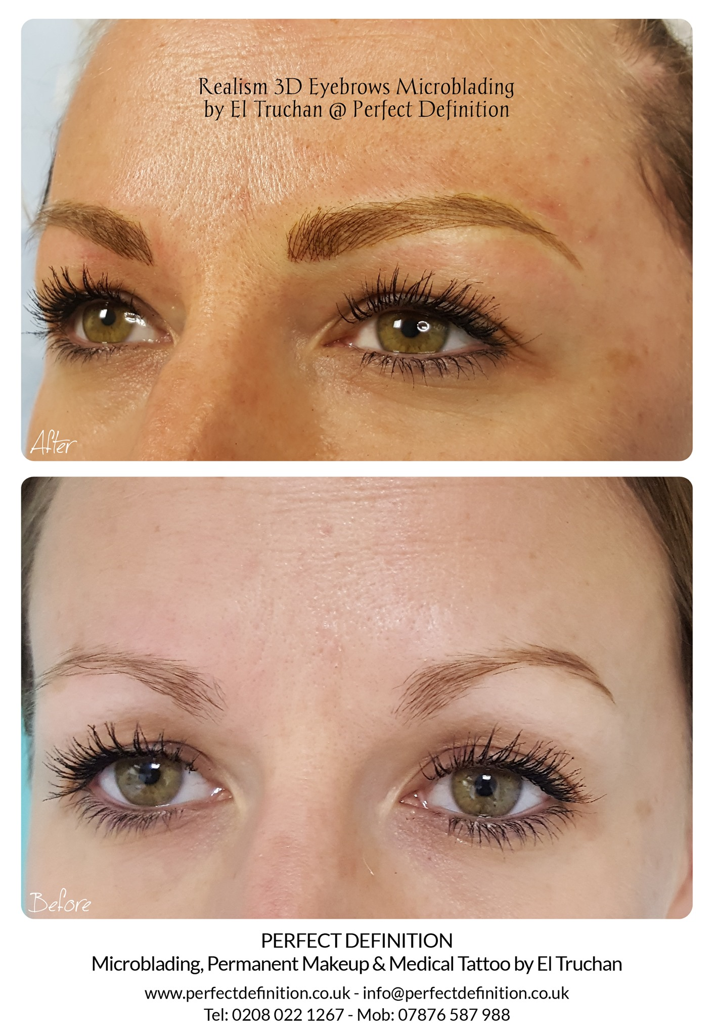 Realism 3D Eyebrows Microblading by El T