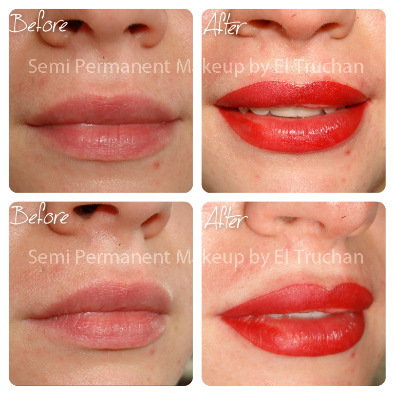 Full Lips Permanent Makkeup by El Truchan