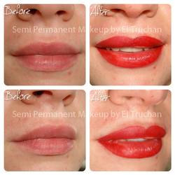 Full Lips Permanent Makkeup by El Truchan