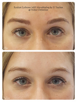 Realism Eyebrows Infill Microblading
