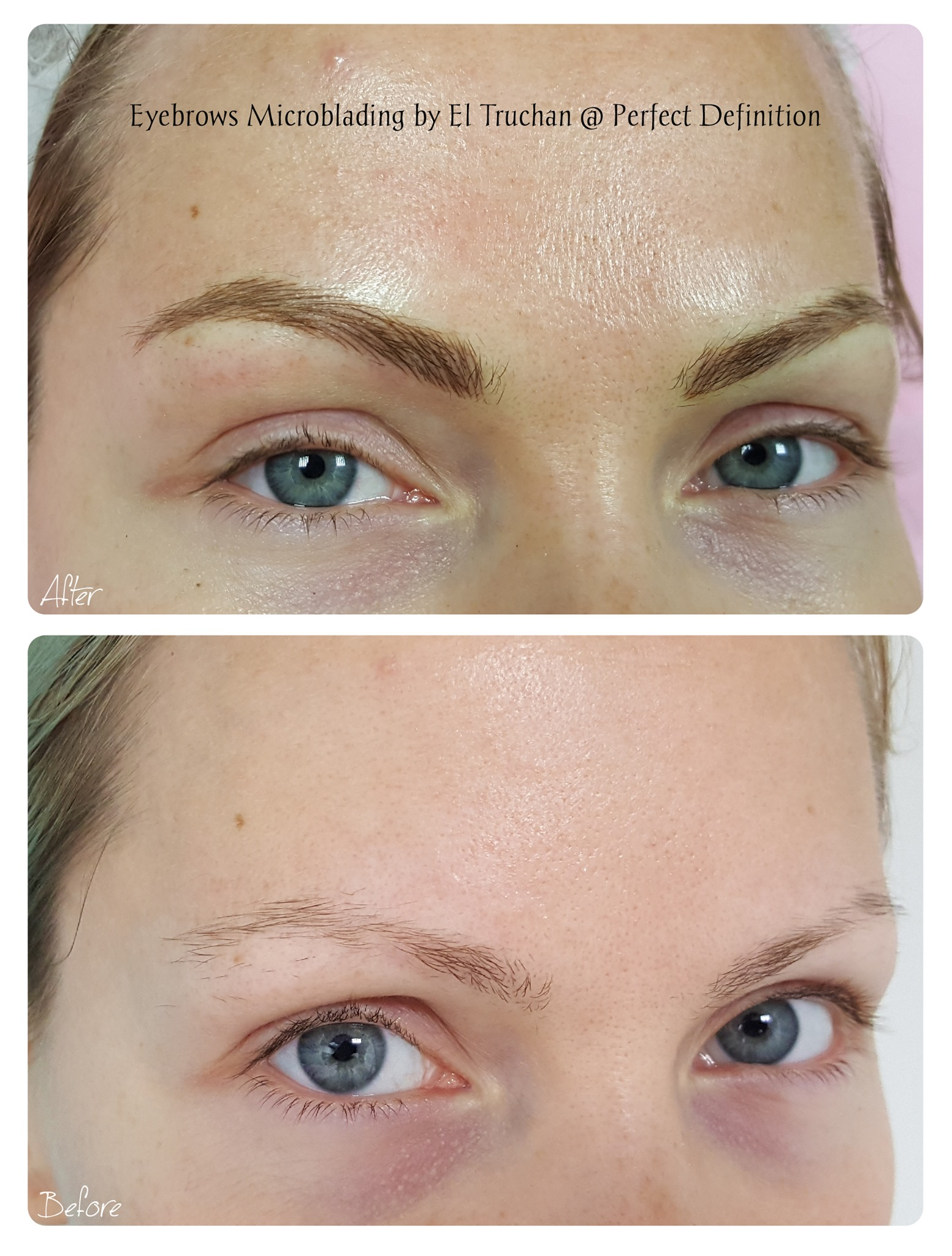 Eyebrows Microblading by El Truchan @ Pe