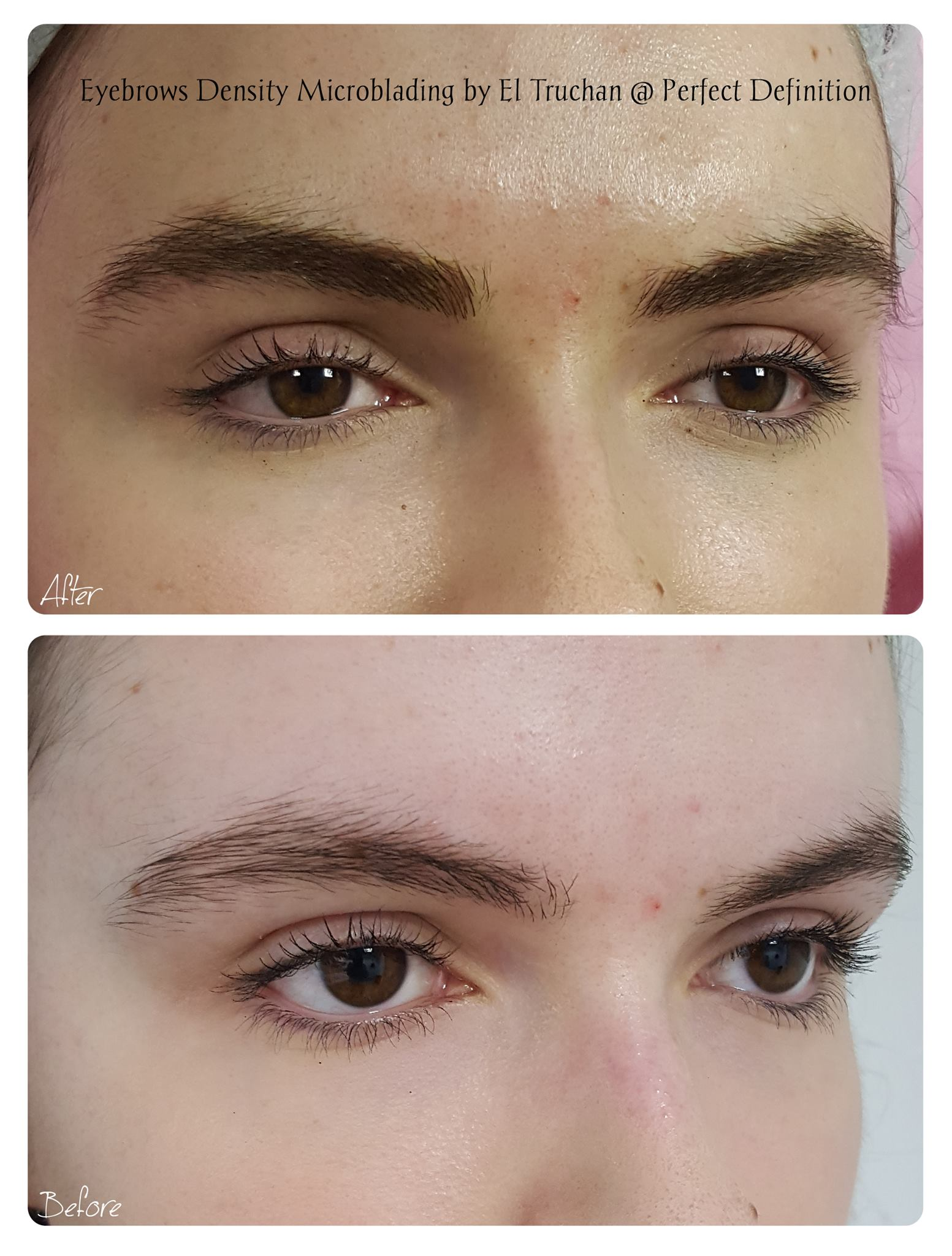 Eyebrows Density Microblading by El Truc