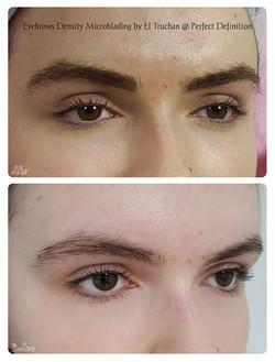 Eyebrows Density Microblading by El Truc